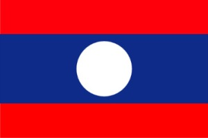 The Flag of Laos